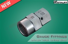 Gauge Fittings with 24? Taper / O-Ring (DKO)