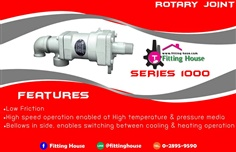 ROTARY JOINT Series : 1000