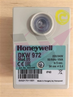 Burner Control HONEYWELL SATRONIC  Model : DKW972 Mod.05