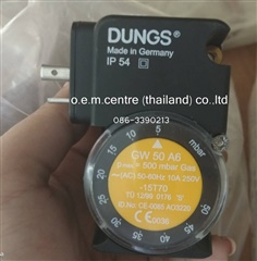 """DUNGS"" PRESSURE SWITCH GW50A6"