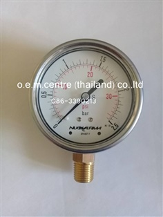 """NUOVA FIMA"" Pressure Gauge 0-2.5 Bar / 0-36 Psi"