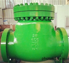 A216 WCB Swing Check Valve,28 Inch,600LB,RF End