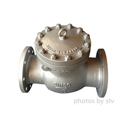 Carbon Steel Swing Check Valve,DN150,PN16,Flange End