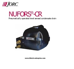 NUFORS-CR Pneumatically operated level sensed condensate drain