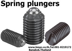 Ball plunger, Spring plunger, Index plunger, press fit plunger