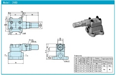 NOP Relief Valve TOP-2VBD Series