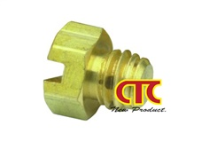 CTC Clippard Screw Brass Plug 11755
