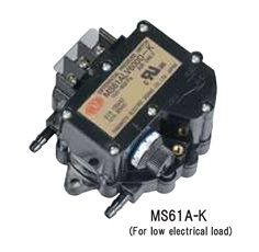 MANOSTAR Micro Differential Pressure Switch MS61A-K Series