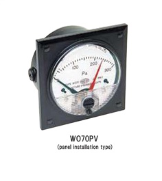 MANOSTAR Differential Pressure Gauge WO70PV Series