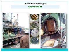 ซ่อมผิวหน้าแปลน Heat Exchanger ด้วย Epoxy Putty