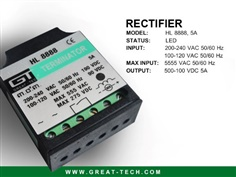 Brake rectifier