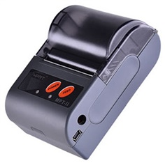 """MPT2 ปริ้นเตอร์ 2 Mobile Receipt Printer Micro USB Serial Port Bluetooth 4.0 #HPRT Battery 7 4V rechargeable Li ion battery 1500mAh รองรับกระดาษความร้อน Paper Width 58 mm พิมพ์เร็ว 50 mm/s มี Power Saving Sleep Mode YES Memory RAM 20 KB Flash 2 MB มี LED indicator Power Red  MPT2O  2"""" Mobile Receipt Printer • Light and compact design • Paper roller diameter: 40mm • Support Bluetooth communication • Provide WinCE and Android SDK  Printing Print Method Direct Thermal Resolution 203 dpi (8 dots/mm) Print Speed Max. 50 mm/s Print Width 48 mm Power Saving Sleep Mode YES Interface Standard MicroUSB, Serial Port, Bluetooth 4.0  Option N/A Memory  RAM 20 KB Flash 2 MB  Programming ESC/POS Fonts Alphanumeric; Simplified Chinese, Traditional Chinese; 42 International Character Sets  Barcode Linear Barcodes UPC-A, UPC-E, EAN-8, EAN-13, CODE 39, ITF, CODEBAR, CODE 128, CODE 93 2D Barcodes QR Code  Graphics Support bitmap printing with different density and user defined bitmap printing (Max. 40KB f"""