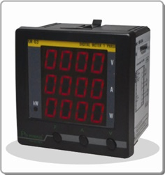 1 PHASE VOLT-AMP-WATT TRUE RMS METER WITH RS-485
