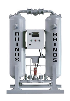 Rhinos RSXW Heatless Desiccant Air Dryer