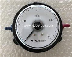 MANOSTAR Low Differential Pressure Gauge WO81FN2E (New)
