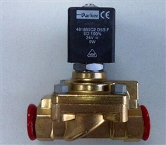 Parker 321H35-2995-481865C2 2/2 Solenoid Valve for High Pressure pneumatic applications - 40 bar