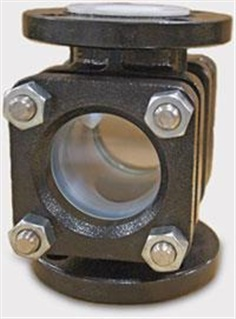 Flow Sight Glass Indicators PFA lined
