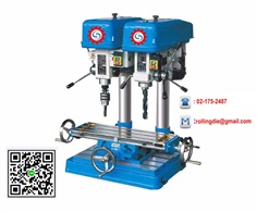 Double Spindle 2 head Compound Machine Drilling Tapping Tools