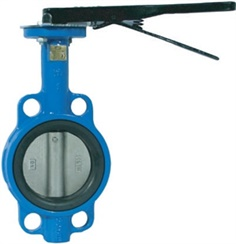 Universal Iron Butterfly Valve (Long Neck Wafer Type) Lever Operator