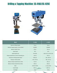 Drilling & Tapping Machine (Taiwan)