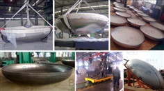 AIR RECEIVER TANK COVER MANUFACTRING