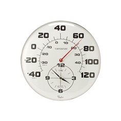 Taylor 162 Patio Thermometer and Clock วัดอุณหภูมิ