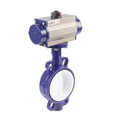Butterfly Valves on off