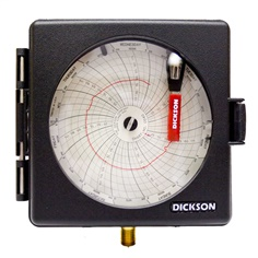 Dickson Pressure Chart  Recorder PW476