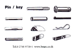 Dowel pin,Taper pin, Parallel pin, Grooved pin, Spring pin, Split pin, Cotter pin, Linch pin, Bright key, parllel key, Round head rivet