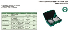 Surface Roughness Specimen Set