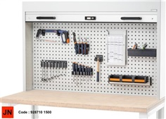Cabinet with roller shutter