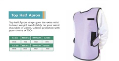 X-RAY Protective Apron 0.5 -Lead Free