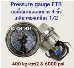 Pressure Gauge Electric With Contact