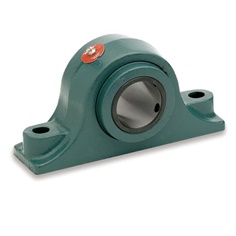 P2BE200R DODGE P2B-E-200R 023010 Pillow Block Roller Bearing Unit - 2.0000 in Bore Dia., Two-Bolt Base, Solid Pillow Block, Cast Iron Material, Non-Expansion Bearing (Fixed)