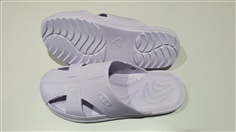 ESD PVC Solid Butterfly Slipper White Color (060174 - W)