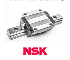 NAH45EMZ - NSK LINEAR GUIDE BEARING - Linear Guide Standard Ball Carriage Profile Rail - Standard Block, 45 mm Rail Size