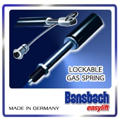 Lockable Gas Spring