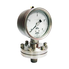 WINTERS  D37  Low Pressure Diaphragm Seal Pressure Gauge