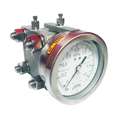 WINTERS  PDD  DOUBLE DIAPHRAGM DIFFERENTIAL PRESSURE GAUGE