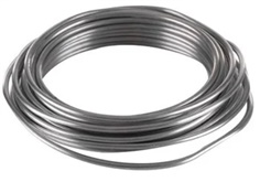 Aluminum wire, Diameter 4 mm  (5m/roll)