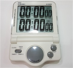White Large Display Timer - 810005