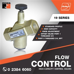 Flow Control Valves - 19 Series