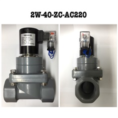 2W UPVC and CPVC Solenoid Valve - Normally Closed