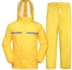 RainFreem, Rain Cloth High Grade , Color Yellow