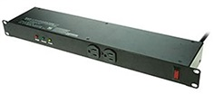 A-Neutronics MS-1215-S6 12 Outlet Surge Protected Rackmount Power Strip
