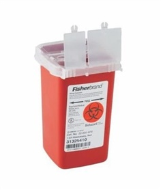 Fisherbrand Sharps-A-Gator Sharps Container for Phlebotomy