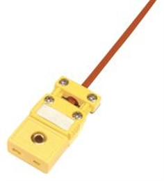 Thermocouple Connector, SMPW Series, Miniature, Cable Clamp, Type K, Socket