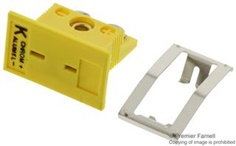 Panel Jacks for Miniature Size Connectors   Thermocouples MPJ-KF