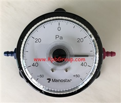 MANOSTAR Low Differential Pressure Gauge WO81FN+-50DV