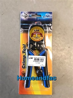 Link pliers to lan cable and telephone cable TL-1103R Crimp Tool